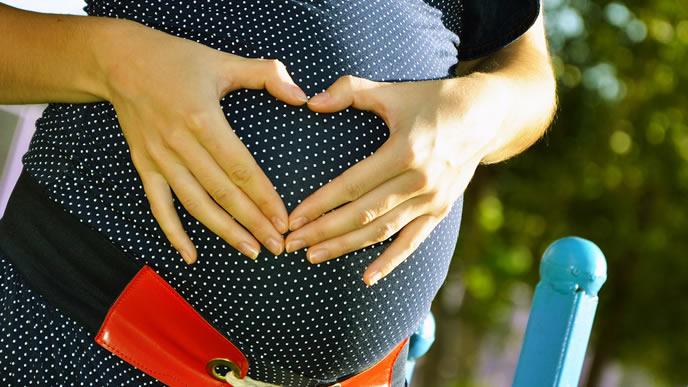ストレスを感じない予定日超過の妊婦