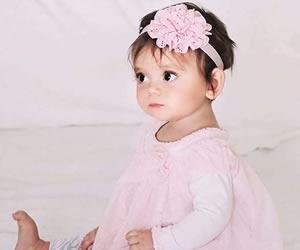 ピンクで統一された女の子らしいコーディネート