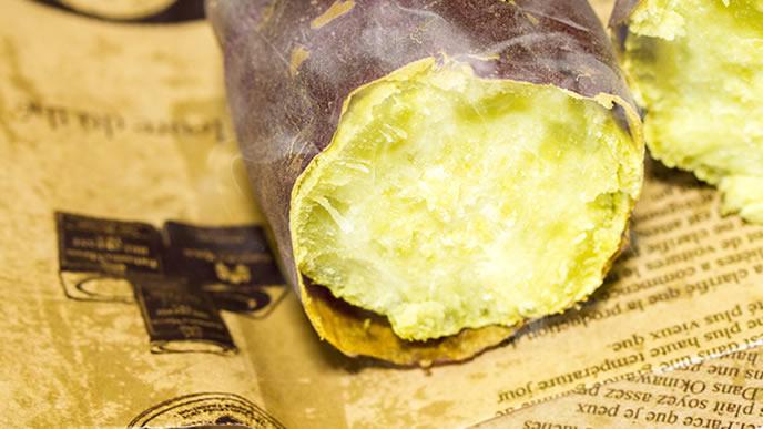 ホクホクに蒸し上げられた焼き芋