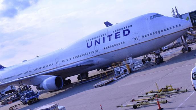 国際線の運行に使われる海外の飛行機