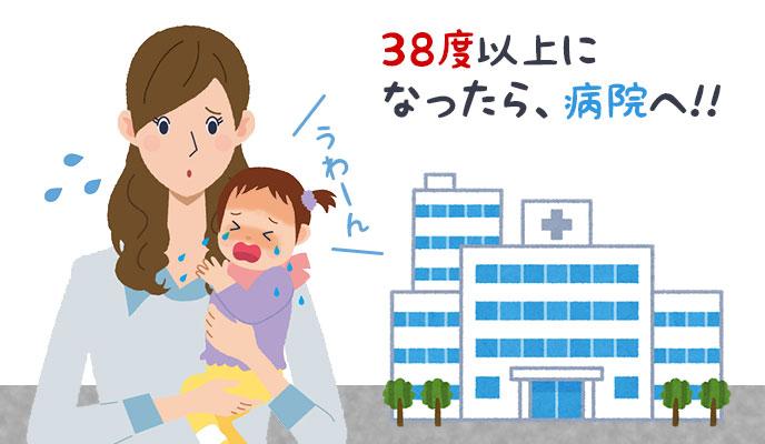3ヶ月の赤ちゃんの発熱