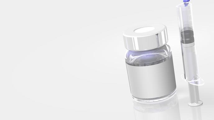 予防接種に使われるワクチンと注射