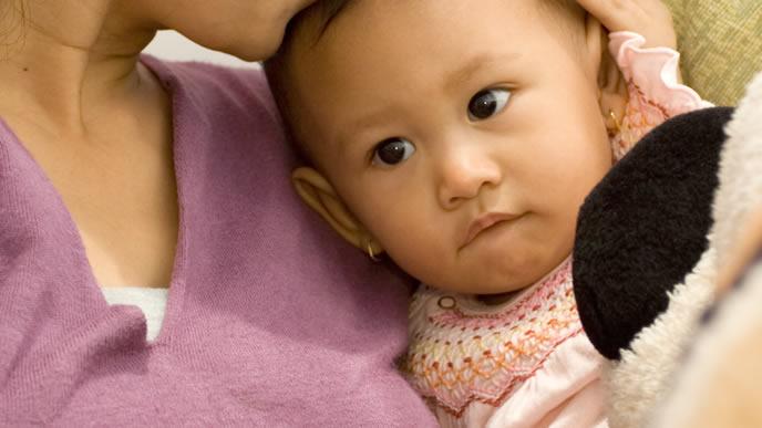 生後10ヶ月まで無事に成長した赤ちゃん
