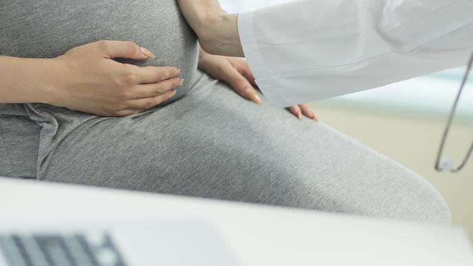 2人目出産で展開が早い妊婦さん