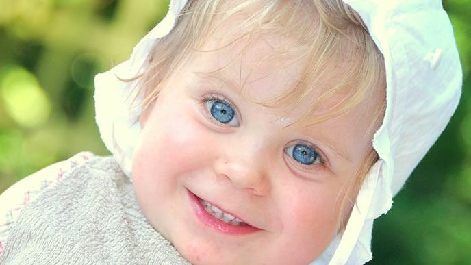 目の結膜炎に気を付けている赤ちゃん