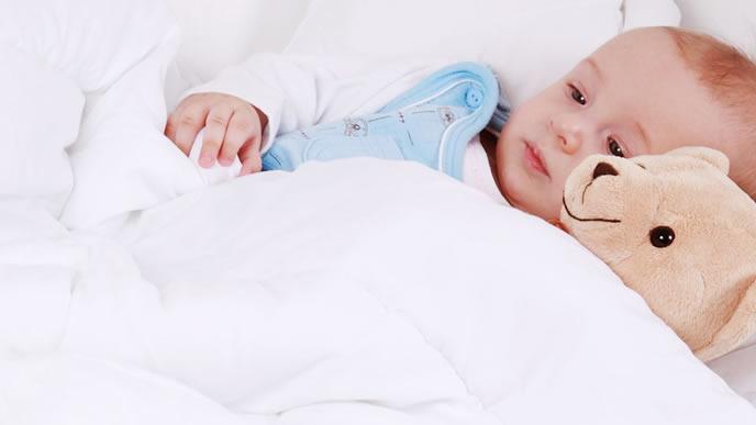 百日咳の疑いがありぐったり元気のない赤ちゃん