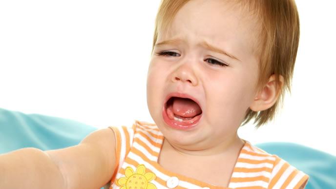 何をやっても泣き止まない腸重積症の赤ちゃん