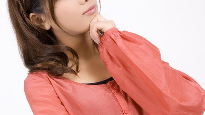 陰性から陽性に反応が変化して困惑する女性