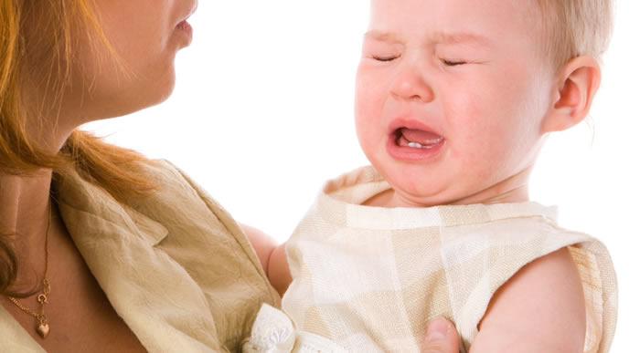 咳が止まらずにギャン泣きする赤ちゃん