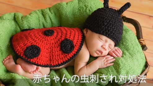 赤ちゃんの虫刺され予防・対処法は?気を付けるべき症状