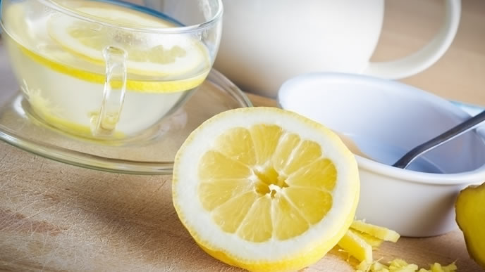 風邪に効果的なハチミツレモン