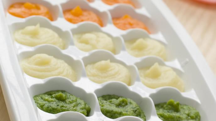 製氷皿を使いだしをストックする方法