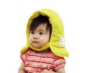 乳幼児用防災ずきん/クツワ株式会社の画像