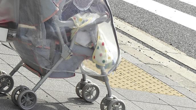 照り返しの暑さから赤ちゃんを守るシート
