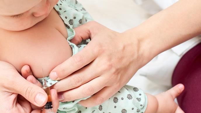 生ワクチンの副作用が気になる赤ちゃん