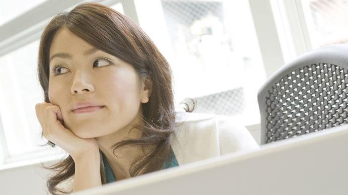 フライング検査のリスクを考える女性