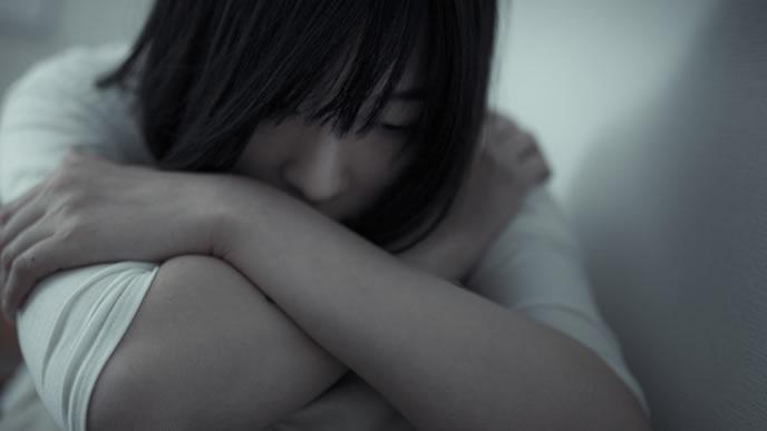 生理不順を想像妊娠と思い込む女性