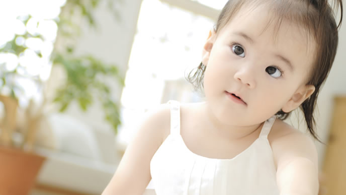 ワクチンの違いを学習する赤ちゃん