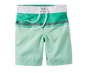 Carter's Striped Swim trunksの画像
