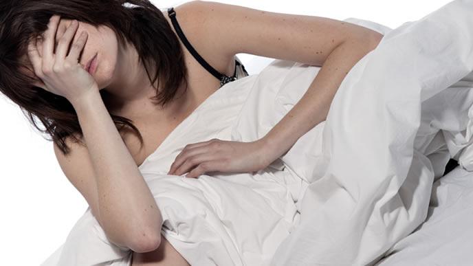 体に不調を感じる妊婦