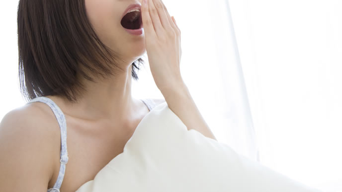寝ても寝ても眠気に襲われる妊婦