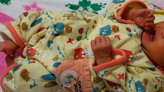 手足口病の妊婦から生まれた新生児