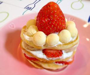 1才用の誕生日ケーキの画像