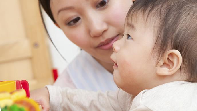 ヘルパンギーナが治り保育園に通う赤ちゃん