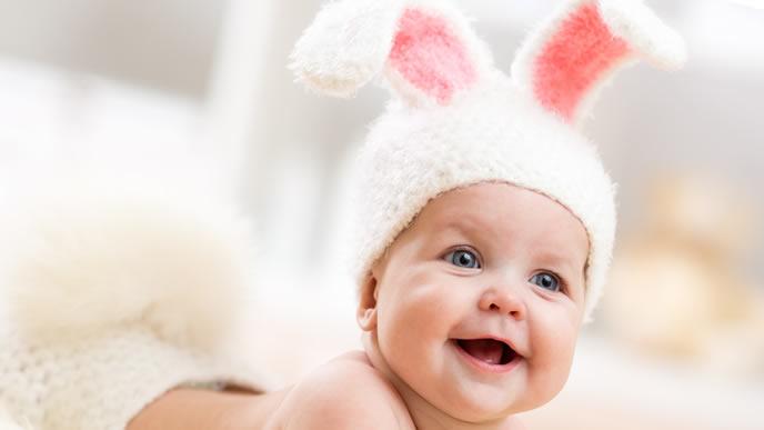 ポケモンにいそうなウサ耳赤ちゃん