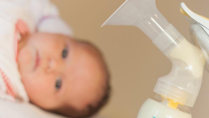母乳により好き嫌いがハッキリしている赤ちゃん