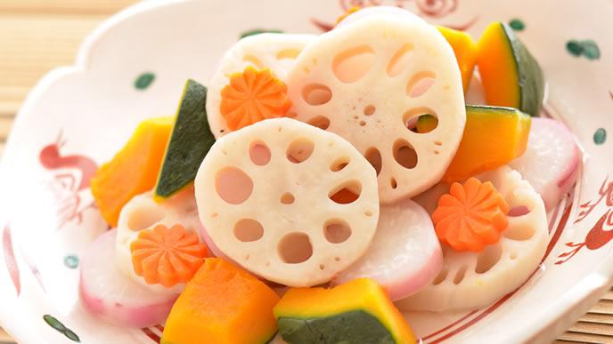 ママの母乳に好影響の根菜の煮物