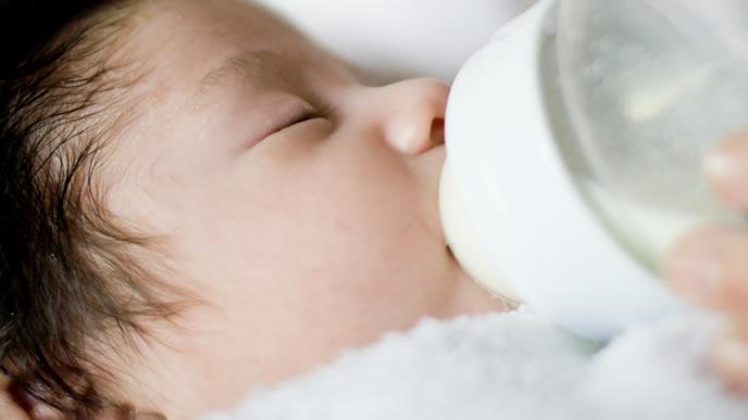 授乳間隔が短い赤ちゃん