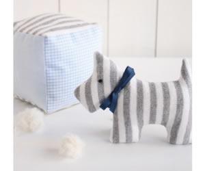 おもちゃキット「サイコロとイヌのニギニギ」の画像
