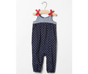 Americana bow one-piece /GAPの画像
