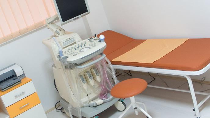 帝王切開をするため妊婦が入院する病院の部屋