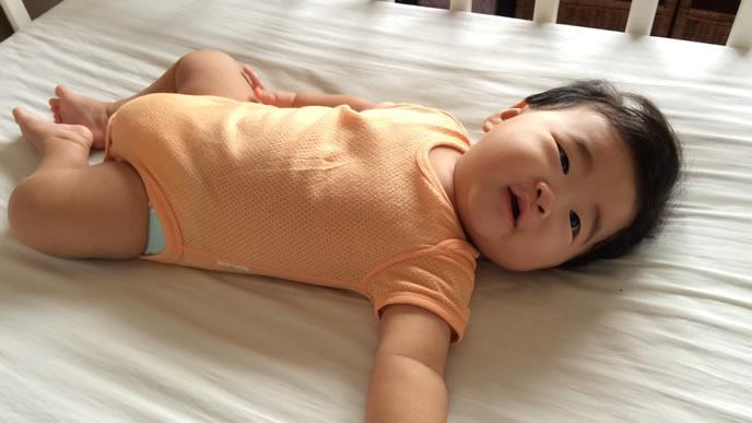 オリゴ糖を摂取して快便の赤ちゃん