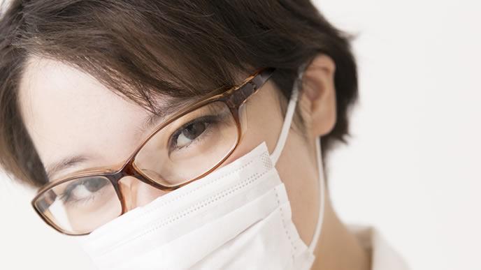 赤ちゃんからの感染を防ぐためのマスク