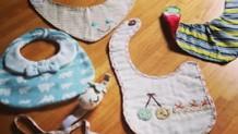 スタイを手作り!卵型・バンダナ型・超簡単スタイ3種の作り方