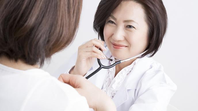 心配毎を親身になって聞く産婦人科の医師