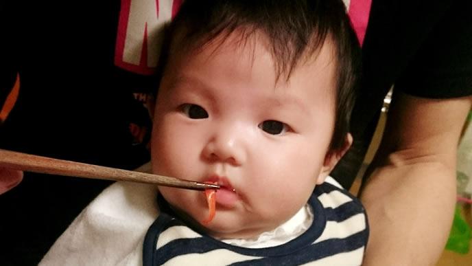 咳が止まらず離乳食が喉を通らない赤ちゃん