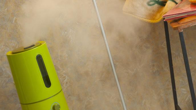 部屋の乾燥を防ぐための加湿器