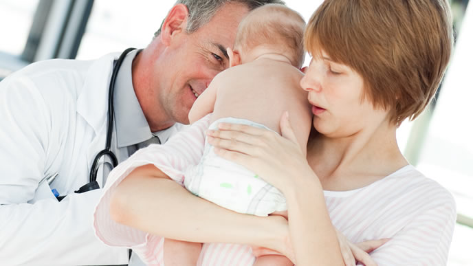 小児科の信頼できるベテラン医師
