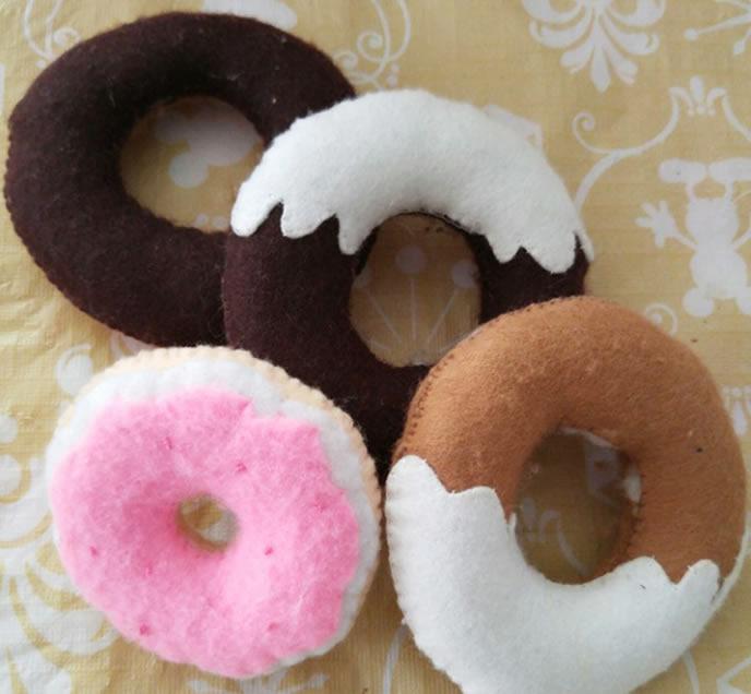 手作りドーナツの画像