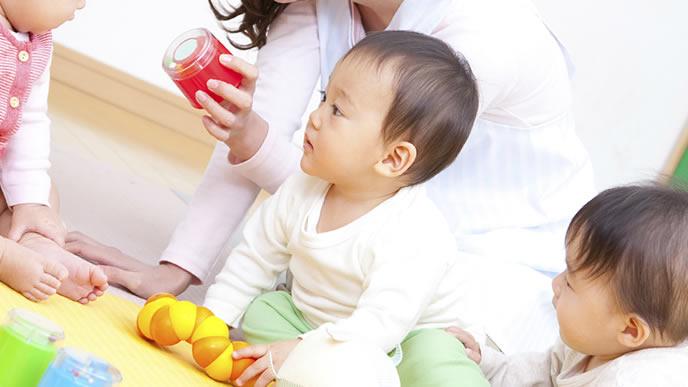 突発性発疹が治り保育園に通う赤ちゃん