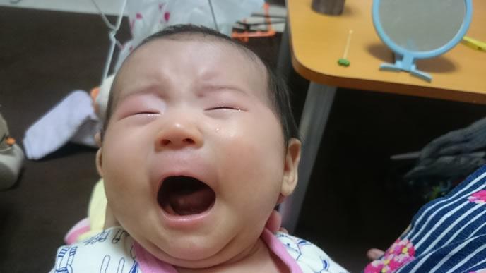ネントレに挑戦するもギャン泣きした赤ちゃん