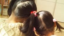 赤ちゃんの髪型参考書!少ない髪でもママの魔法でかわいく変身