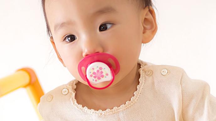 仮性内斜視の赤ちゃん