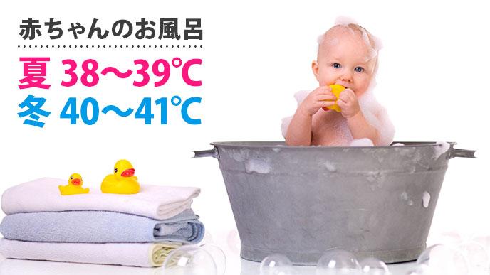 沐浴の適切な温度