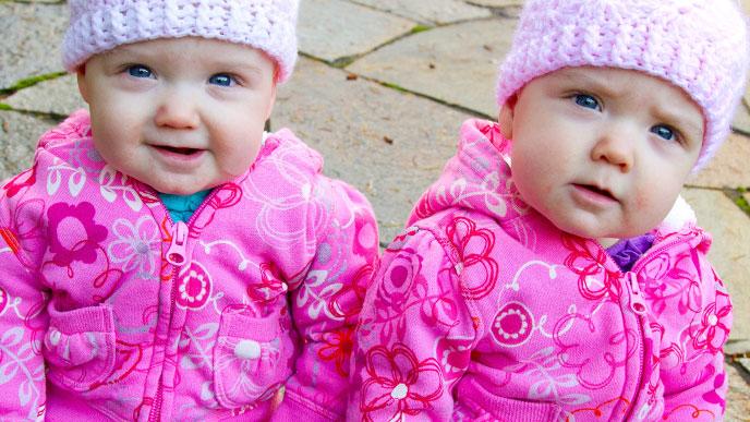 一卵性双生児の性別・DNAや血液型は一緒