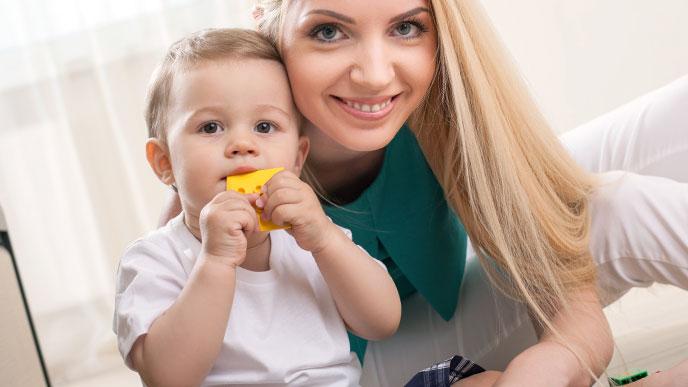 生後4ヶ月、5ヶ月、6ヶ月の赤ちゃんの体の成長